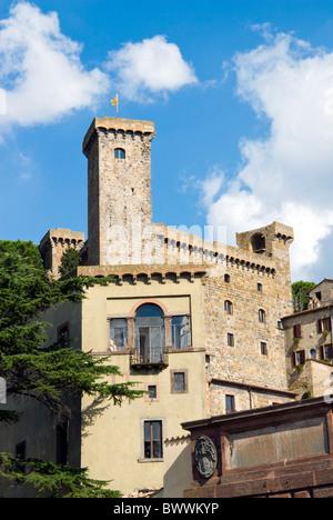 Bolsena Castle (Rocca Monaldeschi), Bolsena, Viterbo Province, Latium, Italy - Stock Photo