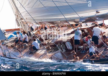 j class yacht shamrock sailing stock photo royalty free image 20214963 alamy. Black Bedroom Furniture Sets. Home Design Ideas