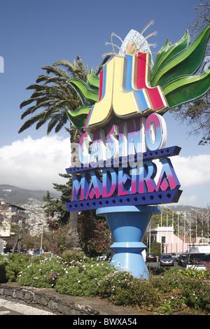 Portugal Madeira Funchal Casino - Stock Photo