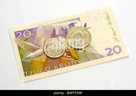 Swedish Currency.