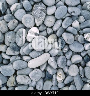 pattern figured gray pebble stones stones structure background - Stock Photo