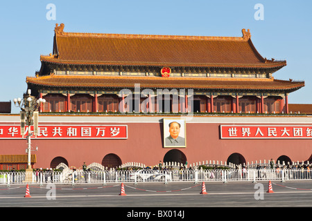 """an analysis of the tiananmen square in the gateway to heaven We had arranged a day tour with the china travel company, and it had a packed itinerary, visiting the temple of heaven, tiananmen square, the forbidden the square name is derived by the tiananmen gate (meaning gate of """"heavenly peace""""), which is also the south entrance to the forbidden city."""