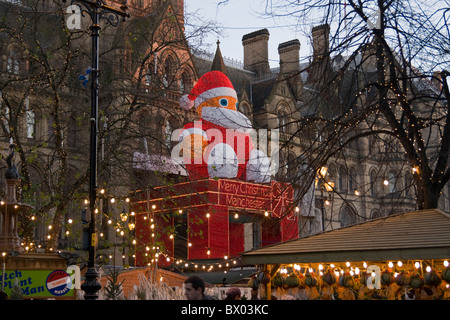 Manchester Christmas Market - Stock Photo