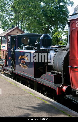 England Kent Tenterden Station with Locomotive No. 3 'Bodiam' - Stock Photo