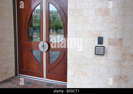 ... Automatic doors for handicapped access with special disabled assistance button Frisco Library Texas & Handicapped disabled access automatic door opener button switch with ...