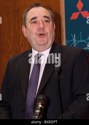 Scotland's First Minister, Alex Salmond. - Stock Photo