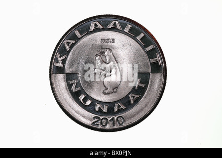 Coin Greenland Stock Photo 33208850 Alamy