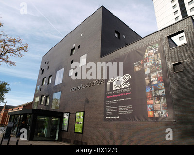 The New Art Exchange is an international centre for the contemporary visual arts and crafts in Nottingham. - Stock Photo
