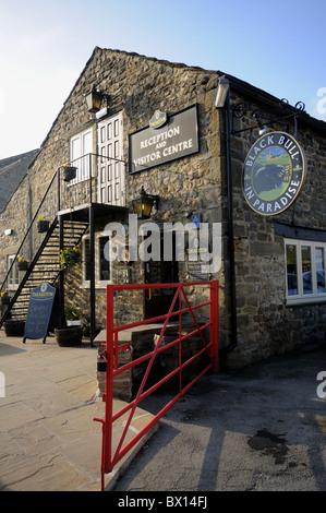 Theakston Brewery in Masham - Stock Photo