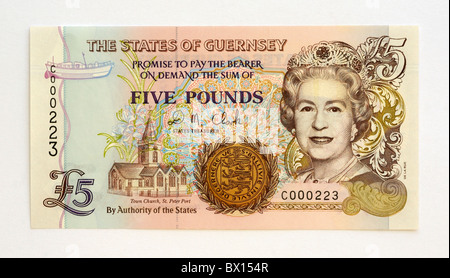 Channel Islands  Pound Note