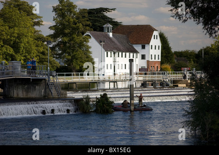 Hambleden Mill, Buckinghamshire, UK - Stock Photo