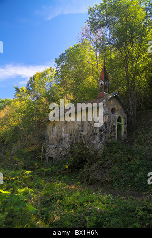 Abandoned and decaying Church along the Wutachschlucht in the Black Forrest, Germany - Stock Photo