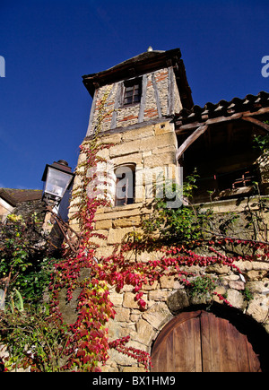 Old house in Sarlat (Perigord,France) - Stock Photo