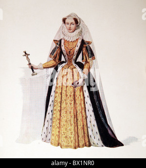 Mary Stuart, Queen of Scots - Stock Photo