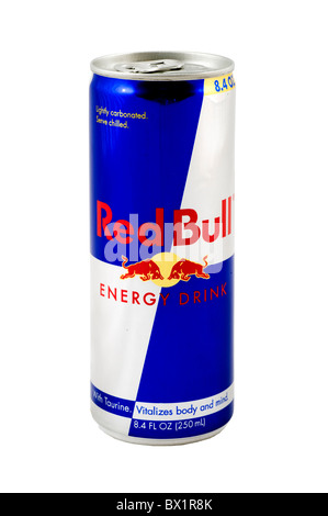 Red Bull Drink, USA - Stock Photo