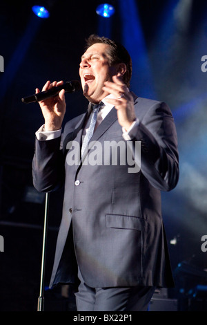 Spandau Ballet performing at Sandown Racecourse - Stock Photo