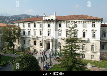 Università della svizzera italiana university university building construction education formation school coll - Stock Photo