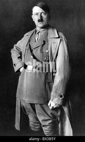 ADOLF HITLER 1933. Photographed by Heinrich Hoffman as Chancellor of the Reich - Stock Photo