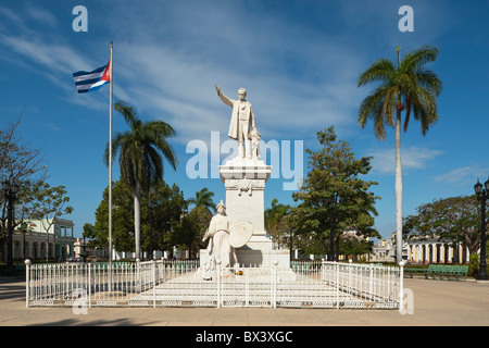 Memorial To José Martí In Parque Martí; Cienfuegos, Cuba - Stock Photo