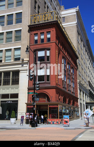 Madame Tussaud's at the corner of F and 10th Streets NW in Washington, D.C., United States, September 5, 2010 - Stock Photo