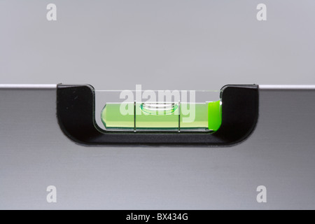 spirit level detail dragonfly plumb line construction building industry tools symbol scales - Stock Photo