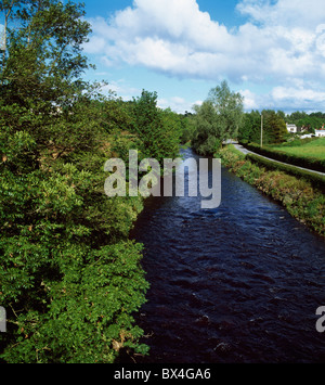 River Bann, Banbridge, Co Down, Ireland - Stock Photo