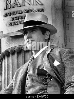 WARREN BEATTY BONNIE AND CLYDE (1967) - Stock Photo