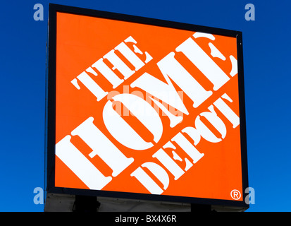 Home Depot store near the Eagle Ridge Mall, Lake Wales, Central ...