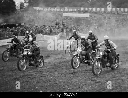 motocross 1963 stock photo 111775682 alamy. Black Bedroom Furniture Sets. Home Design Ideas