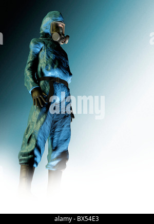 Isolation suit - Stock Photo