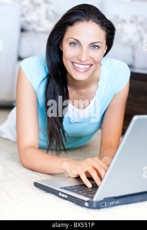 Laptop use - Stock Photo