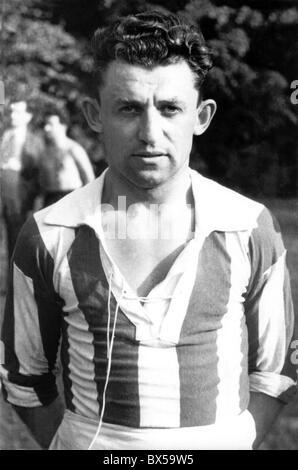 FILE PHOTO - Antonin Puc, Czechoslovak soccer player. (CTK Photo) - Stock Photo
