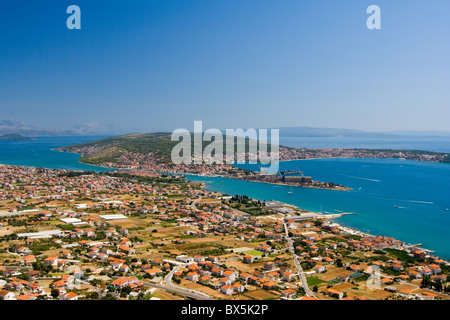 the old city Trogir in Croatia - Stock Photo