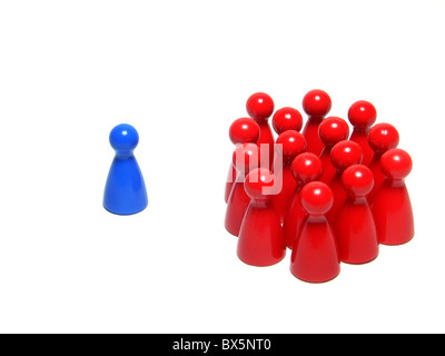 abseits / alone - Stock Photo