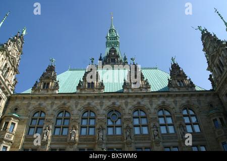 Hamburg town hall - Stock Photo