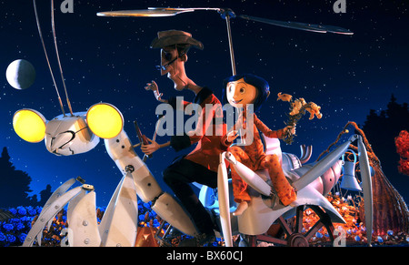 OTHER FATHER, CORALINE, CORALINE, 2009 - Stock Photo