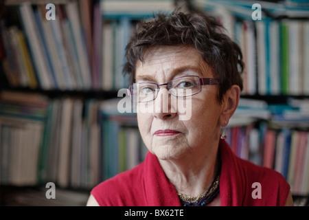 Czech social scientist and publicist Jirina Siklova on May 14, 2010, in Prague. (Ctk Photo/Martin Sterba, Josef - Stock Photo