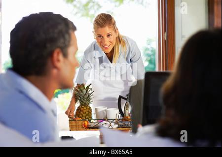 Business Villa - Stock Photo
