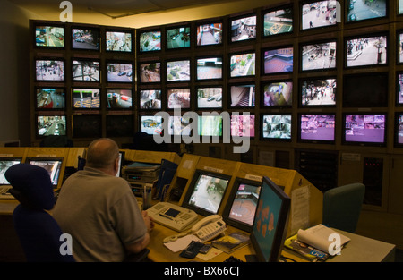 Superb Cctv Control Room Tv Screens Britain Uk Stock Photo Royalty Largest Home Design Picture Inspirations Pitcheantrous