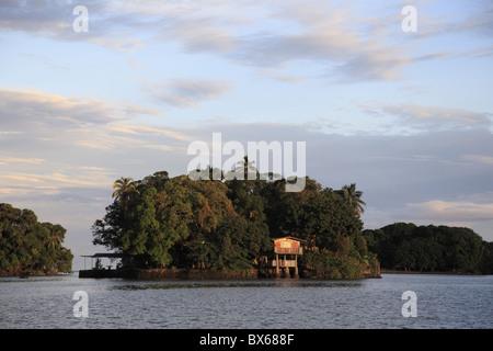 Las Isletas, Archipelago of 365 Islands, Lake Nicaragua, Granada, Nicaragua, Central America - Stock Photo
