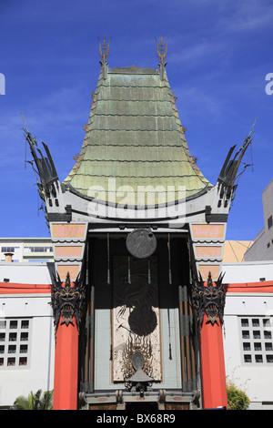 Grauman's Chinese Movie Theater, Hollywood Boulevard, Hollywood, Los Angeles, California, USA - Stock Photo