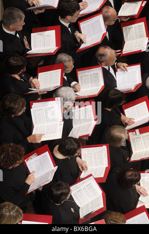 Concert in St. Etienne du Mont church, Paris, France, Europe - Stock Photo
