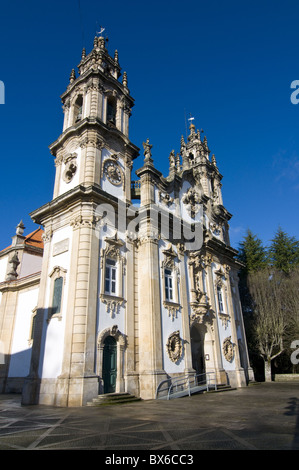 Santuario Nossa Senhora dos Remedios, UNESCO World Heritage Site, Lamego, Portugal , Europe - Stock Photo