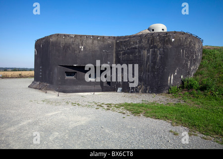 Fort MO-S 19 Alej, Museum of the fortifications, Hlucin-Darkovicky - Stock Photo
