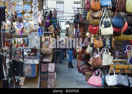 Mercato del Porcellino (Logge del Mercato Nuovo), Florence, Tuscany, Italy, Europe - Stock Photo