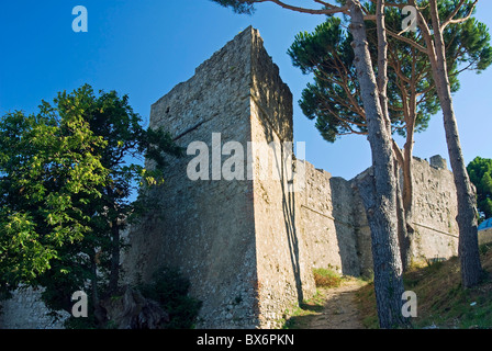 Pisana Fortress, Marciana, Isola d'Elba, Elba, Tuscany, Italy, Europe - Stock Photo