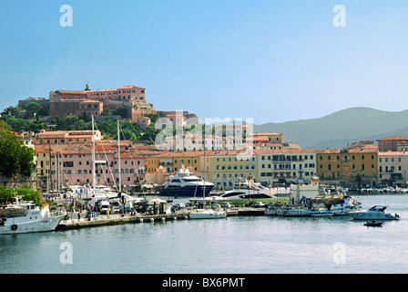 Portoferraio, Isola d'Elba, Elba, Tuscany, Italy, Europe - Stock Photo