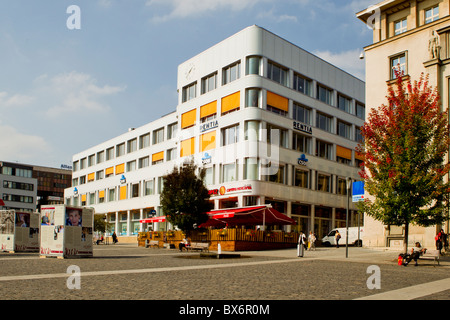 Palace Zdar, building of the year 2009, Usti nad Labem - Stock Photo