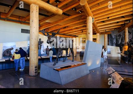 New Visitor Center, Grand Teton National Park, Wyoming, USA - Stock Photo