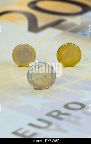 European Hardcash - Stock Photo